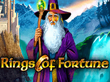 Вулкан зеркало онлайн — играть на автомате Rings of Fortune